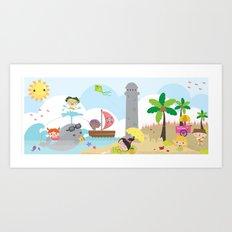 summer party Art Print