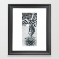 Kapital Framed Art Print