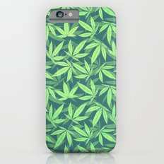 Cannabis / Hemp / 420 / Marijuana  - Pattern Slim Case iPhone 6s