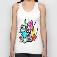 STOP POLLUTION Unisex Tank Top