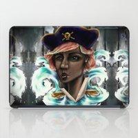 Captain Squid Lips Marqu… iPad Case