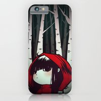 iPhone & iPod Case featuring Little Red by Ellen Su