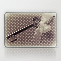 Vintage key Laptop & iPad Skin