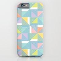 iPhone & iPod Case featuring pinwheels - blue by Melanie Cardenas