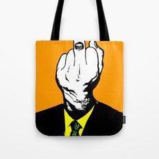 Mr Finger Tote Bag