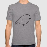 Chirpy Mens Fitted Tee Athletic Grey SMALL