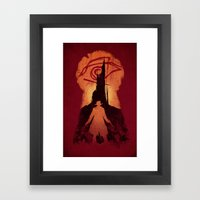He Followed Framed Art Print