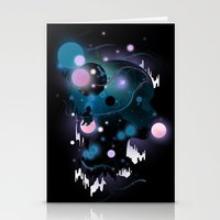 Cosmic Dreams Stationery Cards