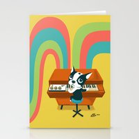 Boogie on Mellotron Stationery Cards