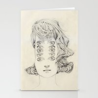 Five Of Them Stationery Cards