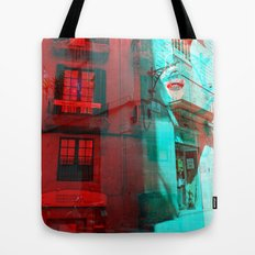 Listen attentively, move purposefully. Tote Bag