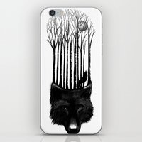 Wolf Barcode iPhone & iPod Skin