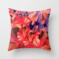 red romance Throw Pillow