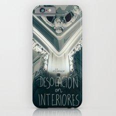 Desolación en interiores iPhone 6 Slim Case