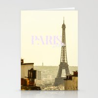 Paris, Bitches! Stationery Cards