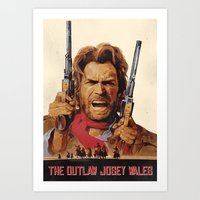 The Outlaw Josey Wales I… Art Print