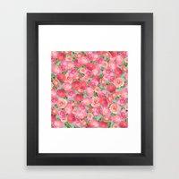 Flora Collage I Framed Art Print