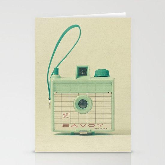 Mint Stationery Card