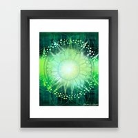 Anahata - Chakra 4 Framed Art Print