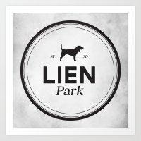 Lien Park Art Print
