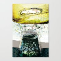 vitriol 5 Canvas Print