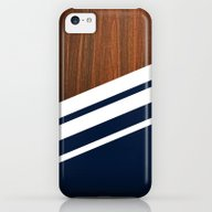 Wooden Navy iPhone 5c Slim Case