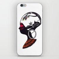 African Portrait iPhone & iPod Skin