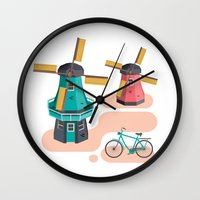 Holland Icon Wall Clock