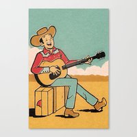 Desert Song Canvas Print