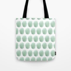 Watercolour polkadot Tote Bag