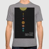 End Of The World? Mens Fitted Tee Athletic Grey SMALL