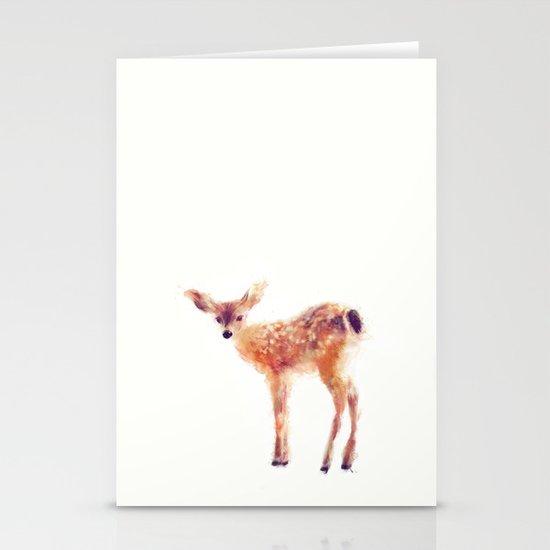 Fawn Stationery Card
