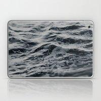 Ocean Magic Black and White Waves Laptop & iPad Skin