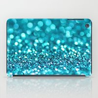 Turquoise Glitter (photo… iPad Case