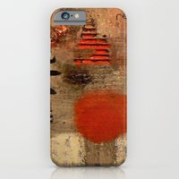 iPhone & iPod Case featuring GEISHA SAD SONG by Luca Piccini