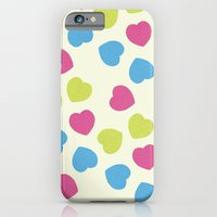 iPhone & iPod Case featuring Love Hearts by Hannah Stevens