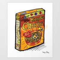 Honey Nut Cheerios Art Print
