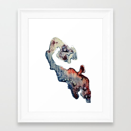 Meditation 3 Framed Art Print