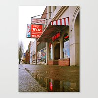 Canvas Print featuring No MSG by Vorona Photography