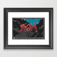 Legion Of Demons (By Nat… Framed Art Print