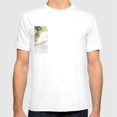 Plantas Mens Fitted Tee SMALL White