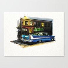 Fury-ous Canvas Print