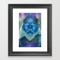 I AM ONE Framed Art Print