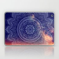Night Mandala Laptop & iPad Skin