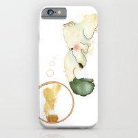 polar bear iPhone & iPod Cases featuring Oso polar - Polar bear by Nadia Engelhard
