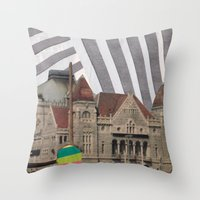 travel weary Throw Pillow
