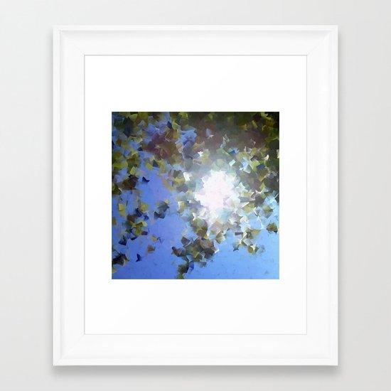 Chasing Sunlight Framed Art Print