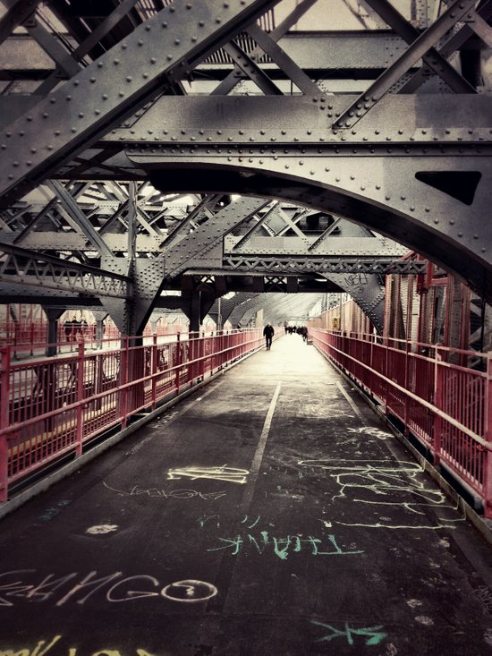 Williamsburg Bridge - New York City Art Print