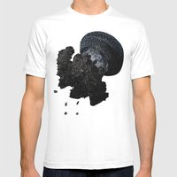 JellyFishi Mens Fitted Tee White SMALL