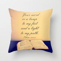 Bible  Throw Pillow